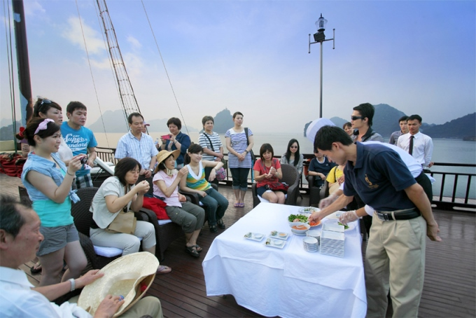 Syrena cruise cooking class